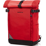 "Samsonite Red Aubinne 15.6"" Laptop Backpack Red 23035"