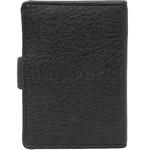 Vault Ladies' PU RFID Blocking Tabbed Credit Card Holder Black W1015 - 1