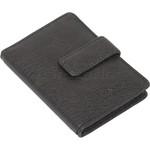 Vault Ladies' PU RFID Blocking Tabbed Credit Card Holder Black W1015 - 3