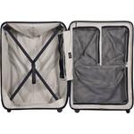 Lojel Vita Hardside Suitcase Set of 3 Black JVI55, JVI70, JVI80 with FREE Lojel Luggage Scale OCS27 - 4