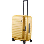 Lojel Cubo Medium 65cm Hardside Suitcase Mustard Yellow JCU65