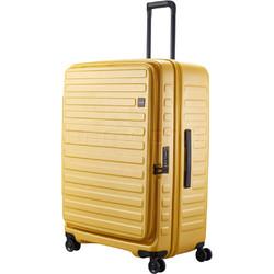 Lojel Cubo Extra Large 78cm Hardside Suitcase Mustard Yellow JCU78