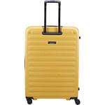 Lojel Cubo Extra Large 78cm Hardside Suitcase Mustard Yellow JCU78 - 1