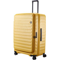 Lojel Cubo Large 74cm Hardside Suitcase Mustard Yellow JCU74