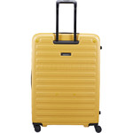 Lojel Cubo Hardside Suitcase Set of 3 Mustard Yellow JCU55, JCU65, JCU78 with FREE Lojel Luggage Scale OCS27 - 1