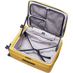 Lojel Cubo Hardside Suitcase Set of 3 Mustard Yellow JCU55, JCU65, JCU78 with FREE Lojel Luggage Scale OCS27 - 5