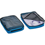 GO Travel Packing Cubes Twin Pack Blue GO285