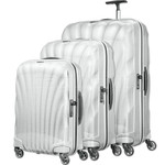 Samsonite Cosmolite 3.0 Hardside Suitcase Set of 3 White 73352, 73350, 73349 with FREE Samsonite Luggage Scale 34042