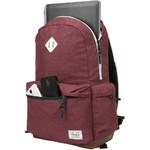 "Targus Strata II 15.6"" Laptop Backpack Burgundy SB936 - 5"