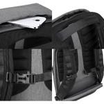 "Targus CityLite Pro 13-15.6"" Laptop RFID Blocking Security Backpack Grey SB938 - 8"