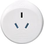 GO Travel Adaptor Plug Australia to EU White GO561 - 2