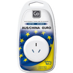 GO Travel Adaptor Plug Australia to EU White GO561 - 4