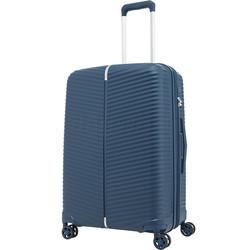 Samsonite Varro Medium 68cm Hardside Suitcase Peacock Blue 12420