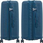 Samsonite Varro Medium 68cm Hardside Suitcase Peacock Blue 12420 - 3