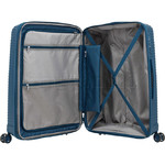 Samsonite Varro Medium 68cm Hardside Suitcase Peacock Blue 12420 - 5