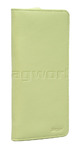 Artex Monaco Leather Passport Wallet Green 40817