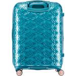 Samsonite Theoni Hardside Suitcase Set of 3 Turquoise 10436, 10435, 10433 with FREE Samsonite Luggage Scale 34042 - 1