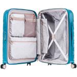 Samsonite Theoni Hardside Suitcase Set of 3 Turquoise 10436, 10435, 10433 with FREE Samsonite Luggage Scale 34042 - 3