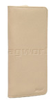 Artex Monaco Leather Passport Wallet Taupe 40817