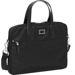 "Samsonite City Air Biz 15.6"" Laptop Bailhandle Briefcase Black 91191"