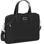 "Samsonite City Air Biz 15.6"" Laptop Bailhandle Briefcase Black 91191"