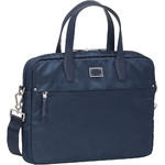 "Samsonite City Air Biz 15.6"" Laptop Bailhandle Briefcase Dark Blue 91191"