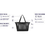 Pacsafe Dry Lite Anti-Theft Water-Resistant 30L Tote Black 21120 - 4