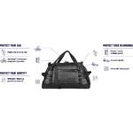 Pacsafe Dry Lite Anti-Theft Water-Resistant 40L Duffle Black 21125 - 4
