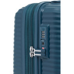 Samsonite Varro Hardside Suitcase Set of 3 Peacock Blue 12419, 12420, 21166 with FREE Samsonite Luggage Scale 34042 - 5