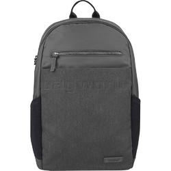 "Travelon Metro Anti-Theft 15.6"" Laptop & Tablet Backpack Heather Grey 43412"