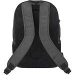 "Travelon Metro Anti-Theft 15.6"" Laptop & Tablet Backpack Heather Grey 43412 - 1"