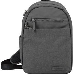 Travelon Metro Anti-Theft Tablet Sling Bag Heather Grey 43413