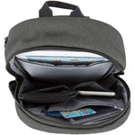 Travelon Metro Anti-Theft Tablet Sling Bag Heather Grey 43413 - 2