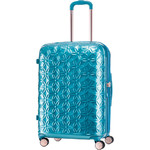 Samsonite Theoni Medium 66cm Hardside Suitcase Turquoise 10435
