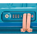 Samsonite Theoni Medium 66cm Hardside Suitcase Turquoise 10435 - 5