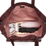 Pacsafe Citysafe CX Anti-Theft Packable Horizontal Tote Merlot 20450 - 5