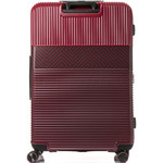 Samsonite Red Robo 2 Hardside Suitcase Set of 3 Red 25316, 25315, 25314 with FREE Samsonite Luggage Scale 34042 - 1