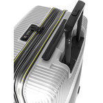 Samsonite Red Robo 2 Hardside Suitcase Set of 3 Silver 25316, 25315, 25314 with FREE Samsonite Luggage Scale 34042 - 6