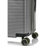 Samsonite Red Robo 2 Hardside Suitcase Set of 3 Silver 25316, 25315, 25314 with FREE Samsonite Luggage Scale 34042 - 7