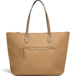 Lipault Plume Avenue Travel Tote Bag Camel 25864 - 1