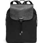 "Lipault Plume Avenue 14.1"" Laptop & Tablet Medium Backpack Jet Black 90846"