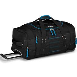 High Sierra Ultimate Access Medium 66cm Backpack Wheel Duffel Black 63608