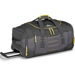 High Sierra Ultimate Access Medium 66cm Backpack Wheel Duffel Charcoal 63608