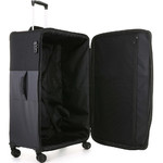 Antler Haze Large 81cm Softside Suitcase Black 45315 - 4