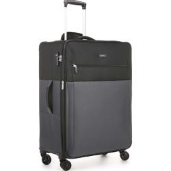 Antler Haze Medium 71cm Softside Suitcase Black 45316