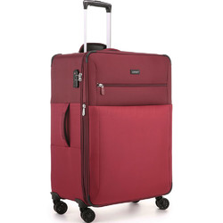 Antler Haze Medium 71cm Softside Suitcase Burgundy 45316