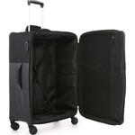 Antler Haze Medium 71cm Softside Suitcase Black 45316 - 5