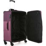 Antler Haze Medium 71cm Softside Suitcase Aubergine 45316 - 5