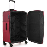 Antler Haze Medium 71cm Softside Suitcase Burgundy 45316 - 5