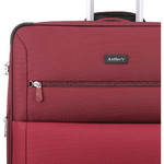 Antler Haze Medium 71cm Softside Suitcase Burgundy 45316 - 8